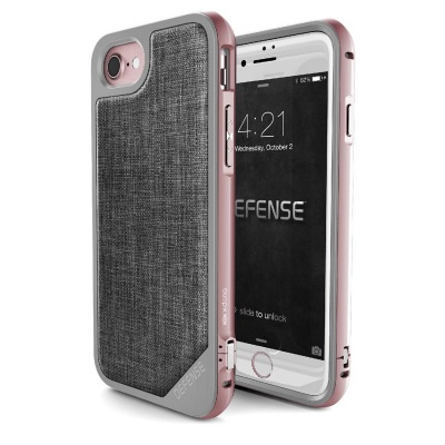 iPhone SE(2nd Gen) and iPhone 6/7/8 Case X-Doria Defence LUX Series- RoseGold